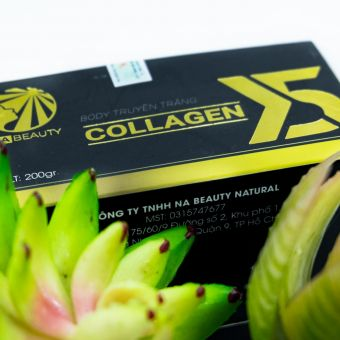 KEM BODY TRUYỀN TRẮNG COLLAGEN X5 NA BEAUTY NATURAL